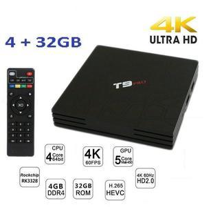 TV BOX T9 PRO 4K IPTV GPU 5 CORE QUAD WIFI ANDROID 7.1 4GB RAM 32GB SMART TV