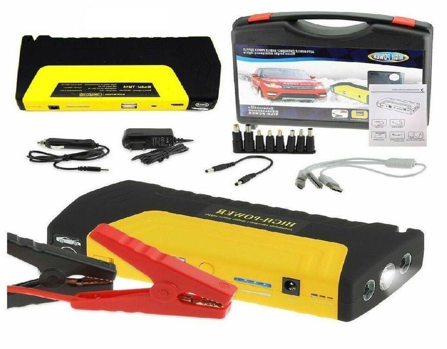 AVVIATORE PORTATILE Di Emergenza SOS Auto Batteria Scarica JUMP STARTER