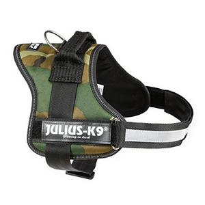 Julius K9 Pettorina Per Cane Mimetica Taglia 2 Grande XL Imbragatura 71-96cm Collare