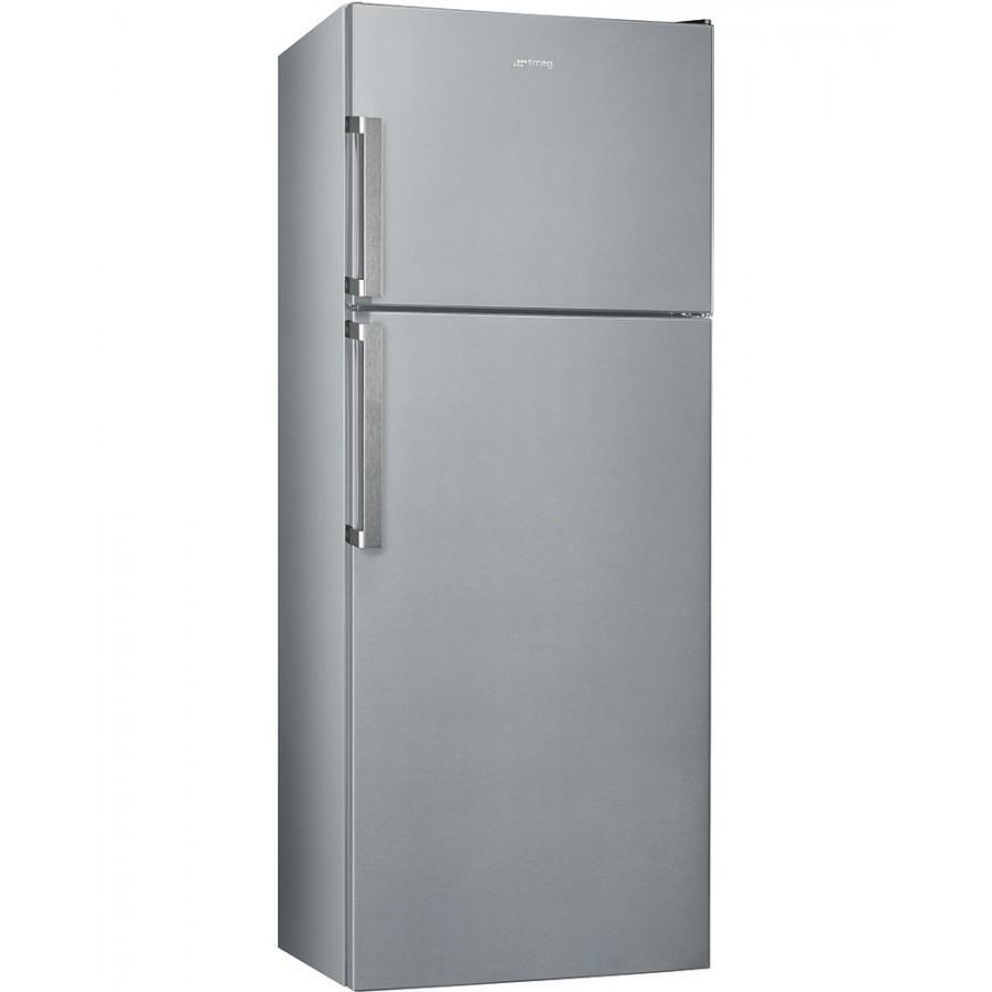 SMEG frigorifero doppia porta 435lt A++ SILVER Total No Frost FD43PSNF4