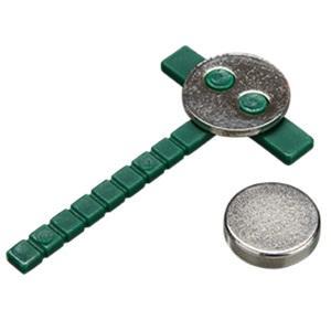 SPILLA FLOR CLIP MAGNETIC GREEN - BOX DA 30 PEZZI