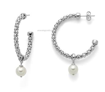 per2398 Orecchini con perle Miluna