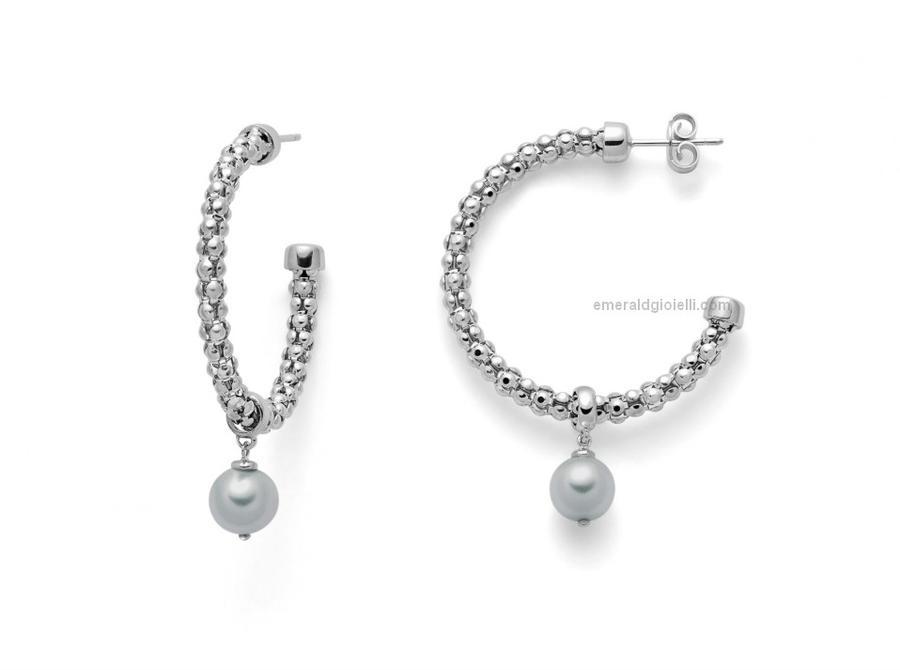 per2399 Orecchini con perle Miluna