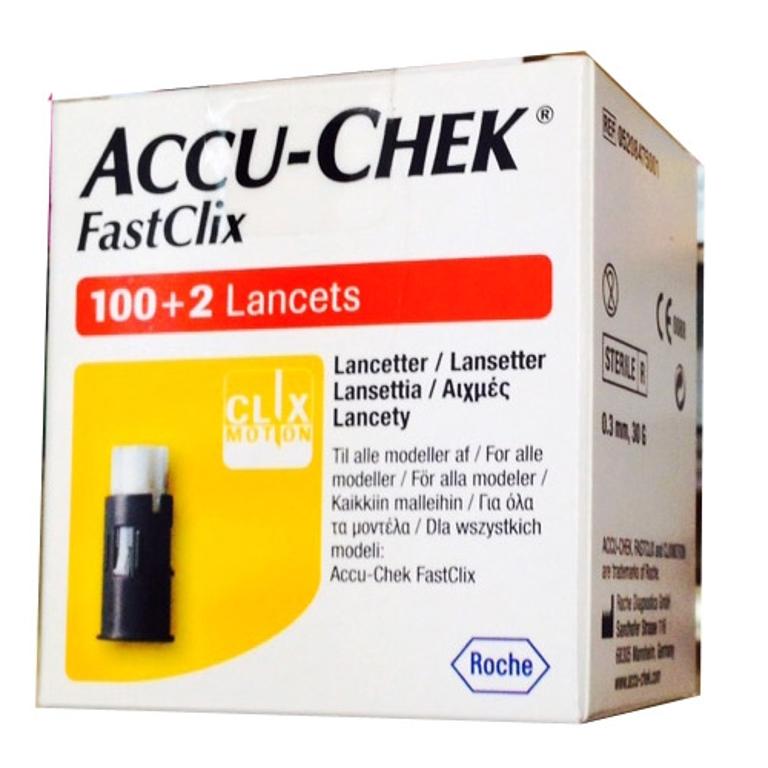 Accu-Chek Fastclix 24 / 100 +2 lancette