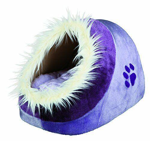 Trixie 36300 Minou Igloo Viola Cuccia Per Gatto e Cane Piccola Taglia 35x26x41cm