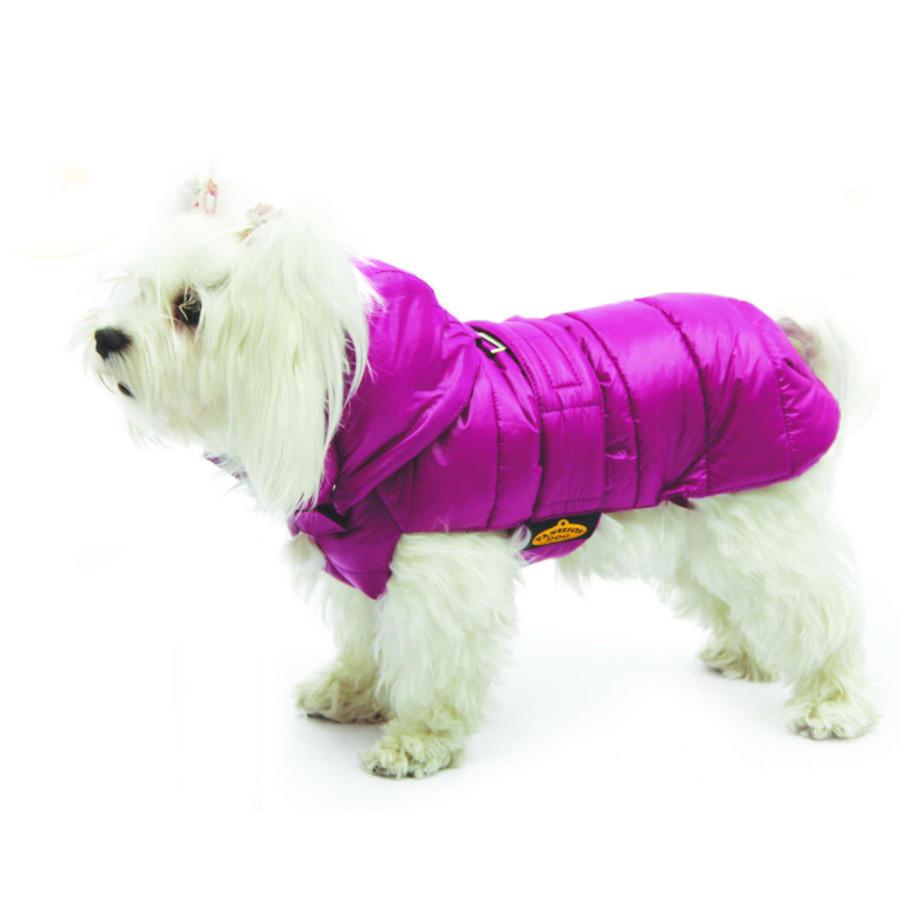 Fashion Dog Italy Cappotto Per Cane Impermeabile Trapuntato Cappottino Fucsia