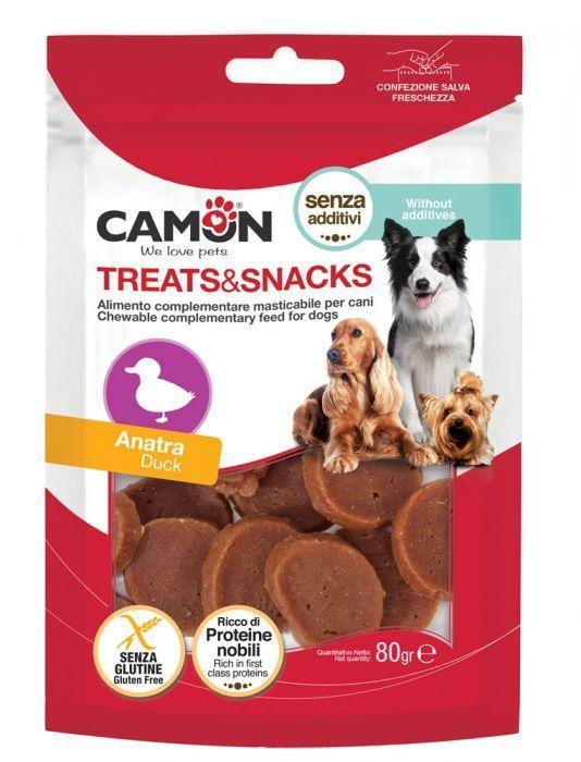 Camon AE500 Sanck Per Cani Carne Di Anatra Masticabile Senza Additivi