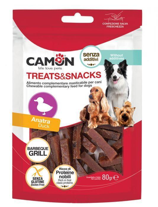 Camon AE504 Snack Per Cani Carne Di Anatra Proteine Nobili Senza Glutine
