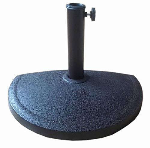 Base in resina MEZZALUNA kg 9 per mezzo ombrellone cod 1074