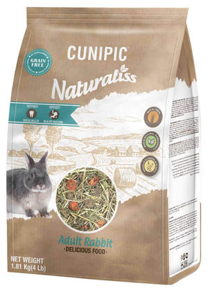Cunipic Naturaliss Conigli Adulti 1,81 Kg