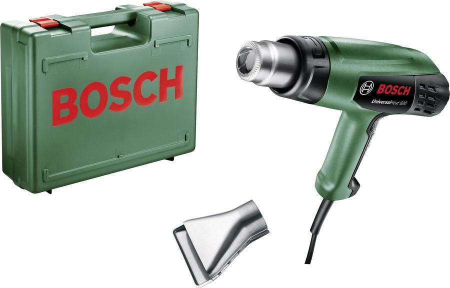 Pistola termosoffiatore 1800W BOSCH UniversalHeat 600 temperatura regolabile 50/300/600°C con accessori e valigetta