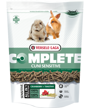 Versele Laga Cuni Sensitive Complete - Timothy e Mirtilli - 1.750 kg