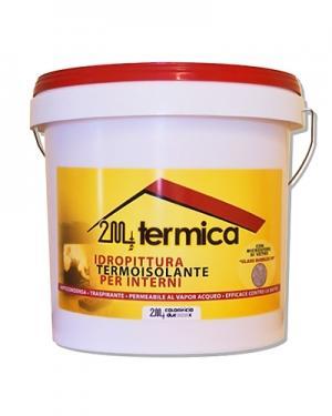 2M TERMICA Idropittura murale ad alta traspirabilità,fonoassorbente