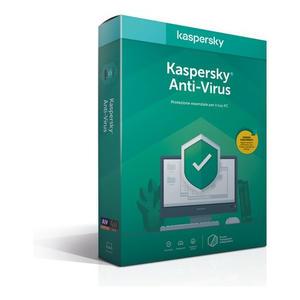 KASPERSKY Anti Virus 2020 1 utente 1 anno
