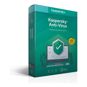 KASPERSKY Anti Virus 2020 3 utenti 1 anno