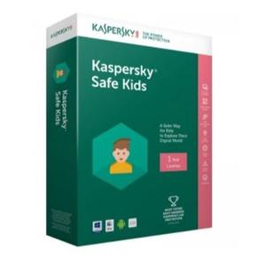 KASPERSKY SAFE KIDS 1 utente 1 anno Italiano