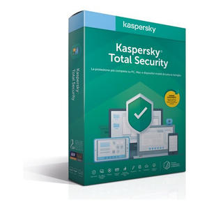 KASPERSKY Total Security 2020 3 utenti 1 anno