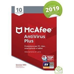 MCAFEE ANTIVIRUS PLUS 10 Dispositivi
