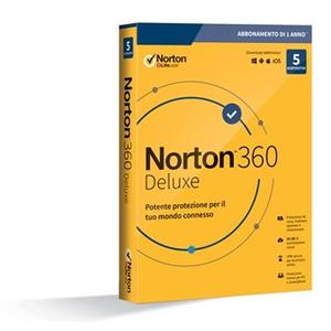 NORTON 360 standard 2020 5 dispositivi 1anno 50 GB