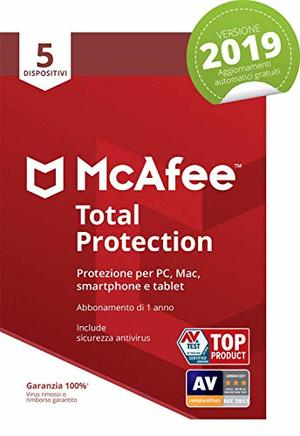 MCAFEE TOTAL PROTECTION 5 Dispositivi