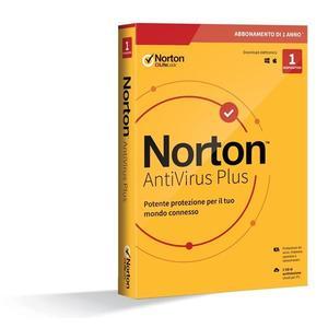 NORTON ANTIVIRUS PLUS 20 1 utente 1 anno 2 GB