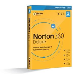 NORTON 360 standard 2020 3 dispositivi 1 anno 25 GB