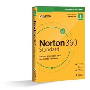 NORTON 360 standard 2020 1 dispositivo 1 anno 10 GB