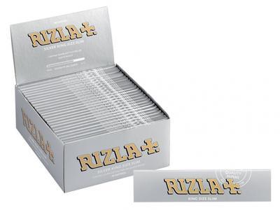 CARTINE RIZLA SILVER SLIM PZ 50x32