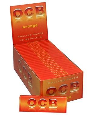 CARTINE OCB ORANGE CORTE PZ 50