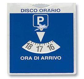 PORTA DISCO ORARIO PZ 18