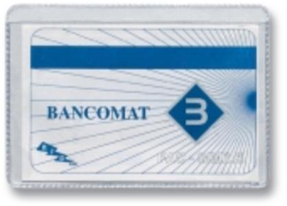 PORTA CARDS TRASPARENTE 2 POSTI PZ 100