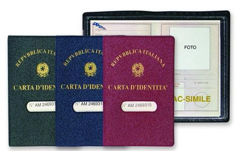 PORTA CARTA IDENTITA' CLASSIC PZ 24