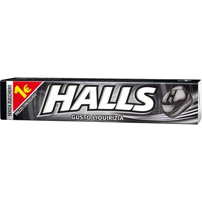 HALL'S STICK PZ 20 LIQUIRIZIA