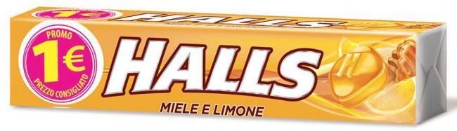 HALL'S STICK PZ 20 MIELE E LIMONE