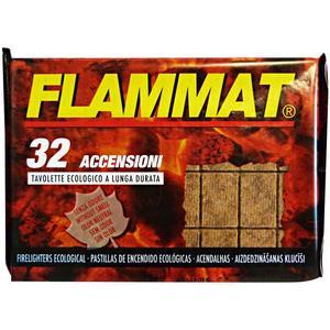 Accendifuoco ecologico per barbecue  32 pezzi Flammat