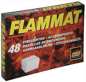 Accendifuoco Flammat 48 cubetti