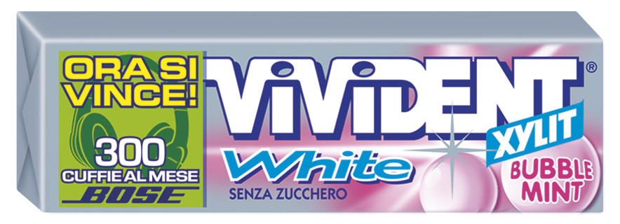 VIVIDENT WHITE STICK PZ 40 MINT