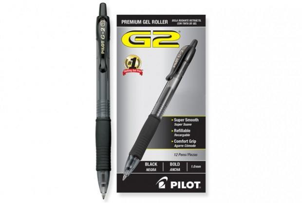 PENNE PILOT G2 GEL 0.7mm PZ 12 NERA