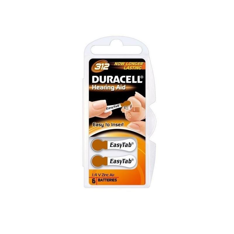 DURACELL ACUSTICA DA312 PZ 10X6