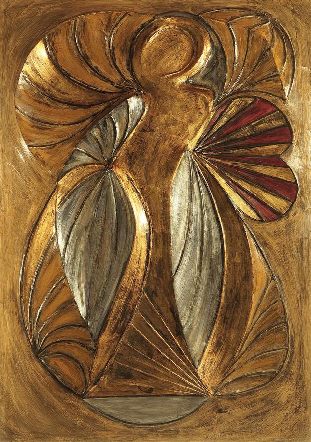 Donna con ombrellino