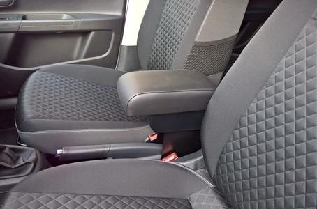Adjustable armrest with storage for Volkswagen UP!
