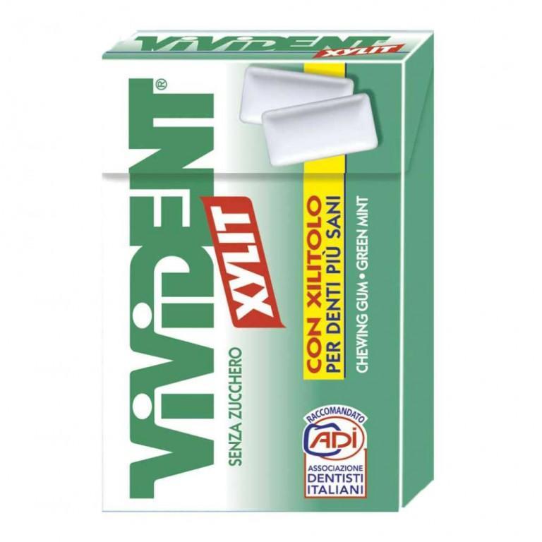 VIVIDENT XYLIT ASTUCCIO PZ 20 GREEN MINT