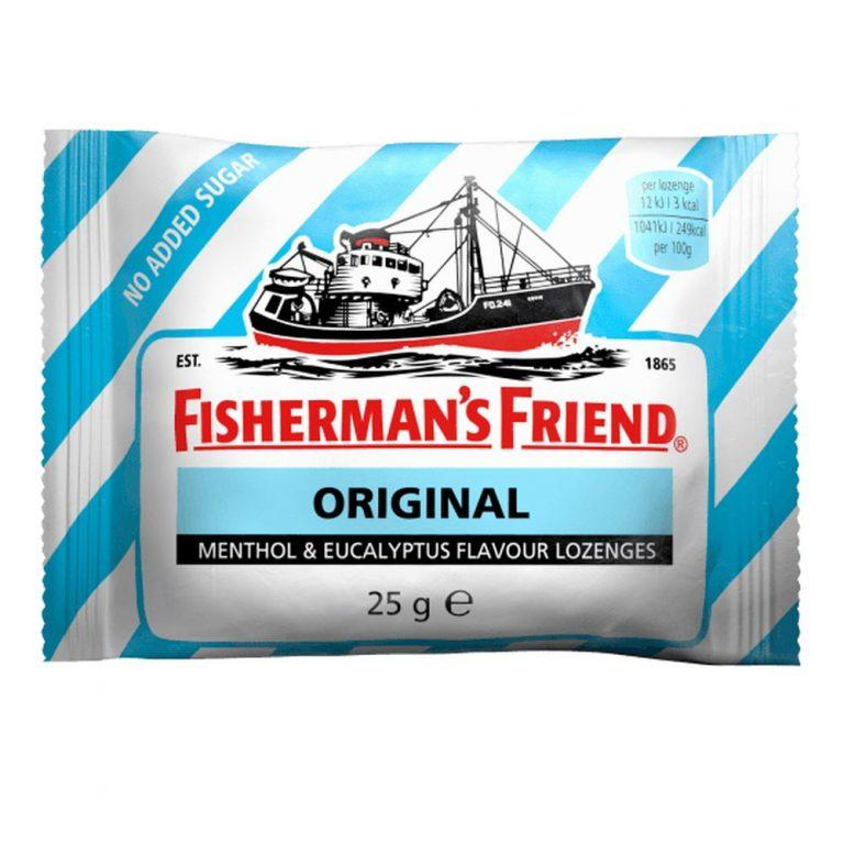 FISHERMAN'S FRIEND PZ 24 ORIGINALE SENZA ZUCCHERO