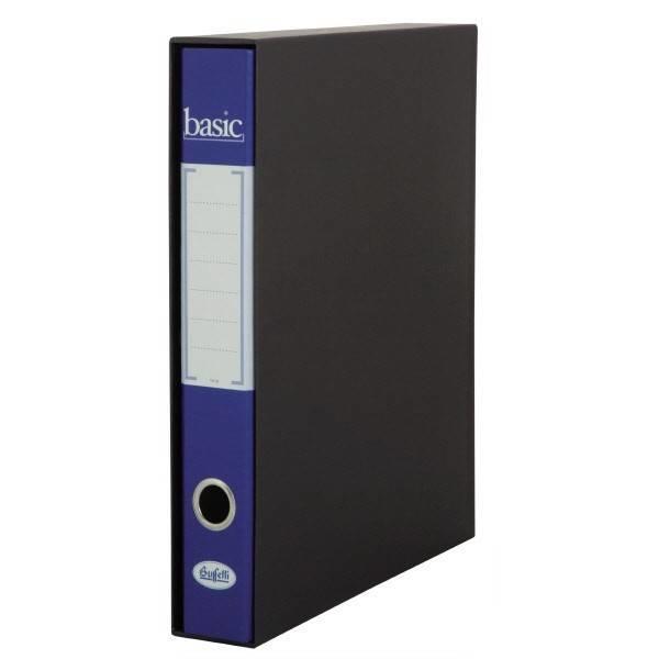 REGISTRATORE RACCOGLITORE BASIC BLU DORSO 5 - BUFFETTI 7827B1000