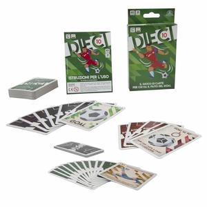 Dieci 10 Il gioco di carte per chi ha fiuto del Goal - Giochi Preziosi DEC00 - 7+ anni