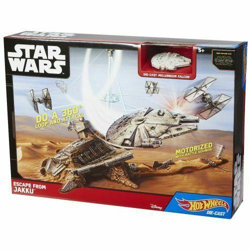 Star Wars Fuga da Jakku - Mattel CGN32 Hot Wheels - 5+ anni
