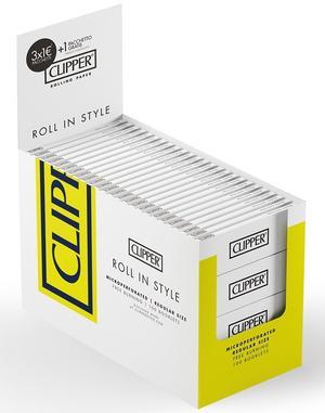 CARTINE CLIPPER WHITE CORTE PZ 100