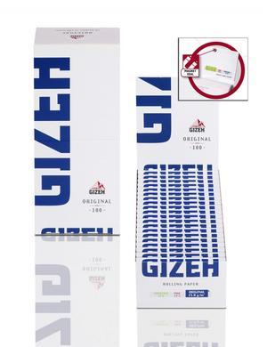 CARTINE GIZEH CORTE MAGNETIC BLU PZ 20