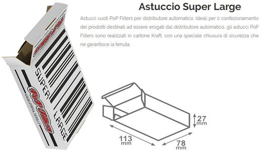 ASTUCCI PER DISTRIBUTORE SUPER LARGE PZ 150