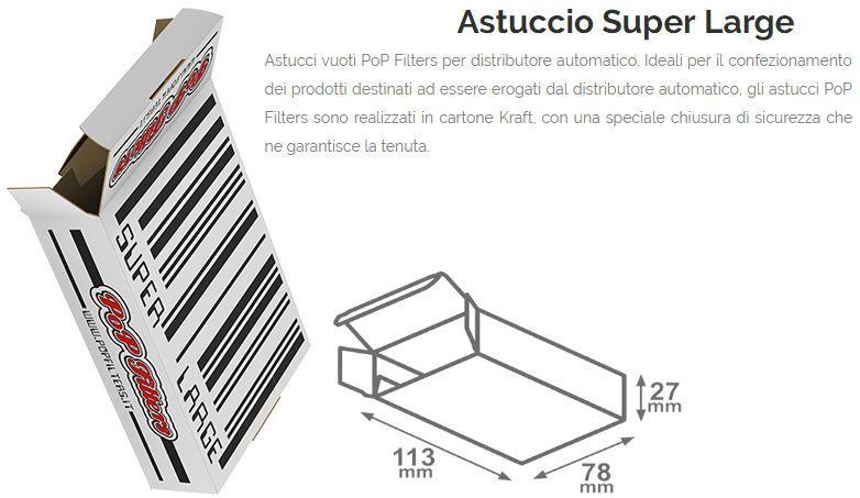 ASTUCCI PER DISTRIBUTORE SUPER LARGE PZ 150